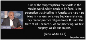 More Feisal Abdul Rauf Quotes