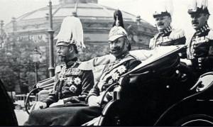 Czar Nicholas II dressed