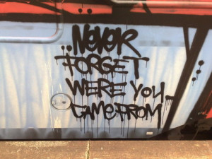 ... quote inspiration train never tagging Never Forget where you came from