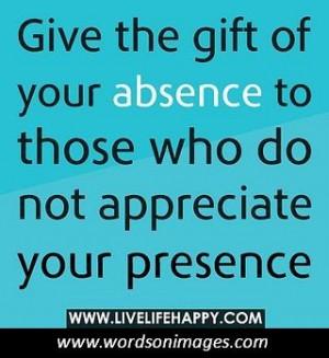 Appreciating life quotes