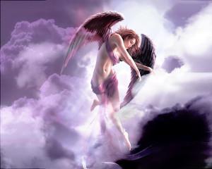 Free Fine Angel Wallpaper