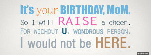 happy birthday mom quotes and poems