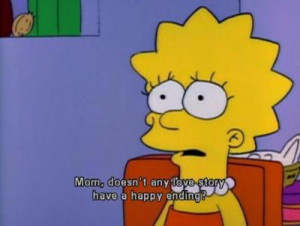 ... lisa simpson, love, quote, simpsons, text, texts, the simpsons, word