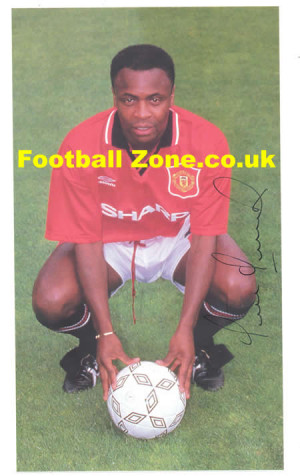 Manchester United Paul Parker Signed Picture 1996