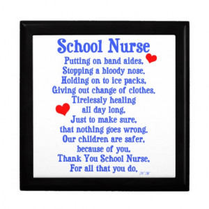 School Nurse Appreciation Day Poem Zazzle