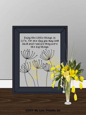 Framed Quote Print, Printable Art Wall Decor, Inspirational Christian ...