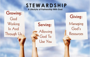 Stewardship Quotes Black