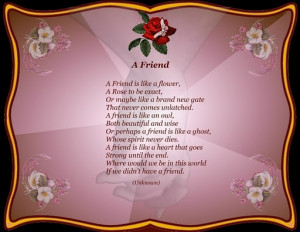friendship poems wallpaper pictures images beautiful friendship poems ...