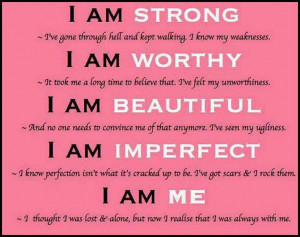 AM Perfectly Imperfect!!! | makes me feel good