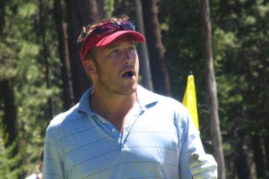 Bode Miller brings his stubble and his attitude to a golf course ...