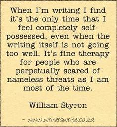 Quotable - William Styron - Writers Write Creative Blog More