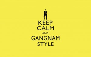 Keep Calm Gangnam Style Quotes Wallpaper 2560×1600