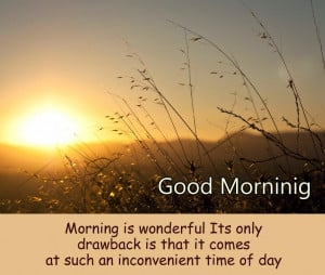 Good morning images sayings and quotes