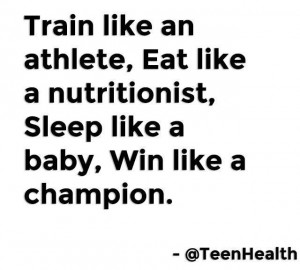Fitness quotes by Teen Health