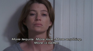 grey s anatomy meredith grey abc tequila drink frasi vere