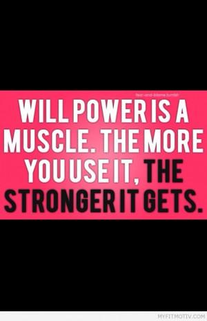 Get #willpower get #fit - http://myfitmotiv.com - #myfitmotiv #fitness ...