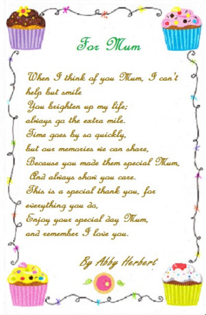... can use all cards bellow about Mother Birthday verses, Poems, Quotes