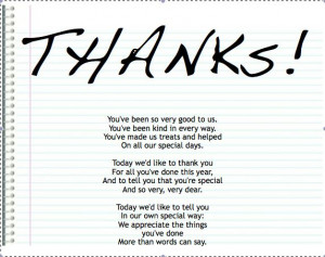 sayings and even volunteer appreciation poems thank you gifts for ...