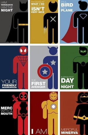 dc and marvel quotes