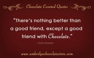 chocolate quote.
