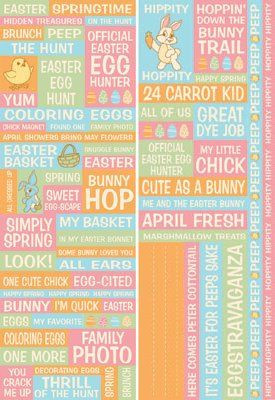 Happy Easter Quotes Stickers