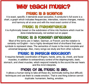 "Did you see my previous image "" Why I Teach Music .""?"