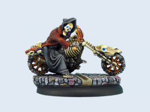 Discworld - Death on motorcycle (1)
