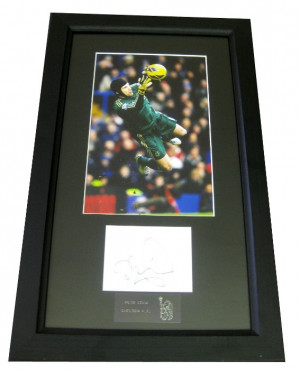 Home / Petr Cech Authentic Signature Frame