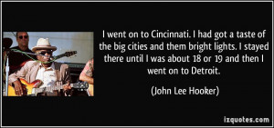 More John Lee Hooker Quotes