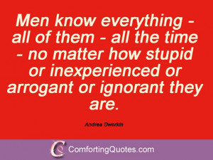 Quotes And Sayings By Andrea Dworkin