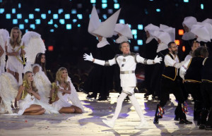 Eric Idle The Olympics come to a stunning close as the Spice Girls