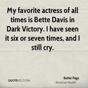 Bettie Page Sex Quotes