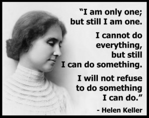 Tribute To Helen Keller