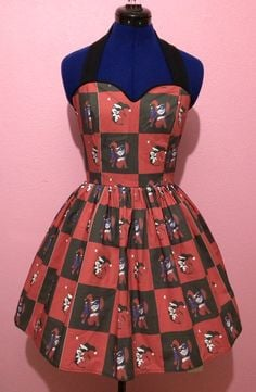 Harley Quinn Dress by CakeShopCouture on Etsy, $120.00