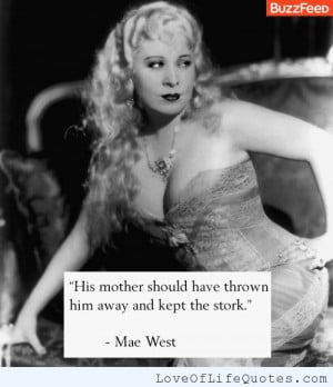 funny quotes by mae west
