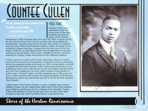 Countee Cullen, Stars of the Harlem Renaissance
