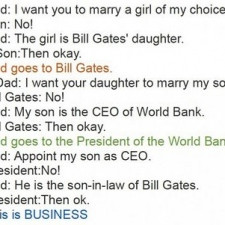 This is business!