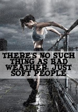 Rain running