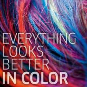 ... love her no matter the weird ass colors she wants her hair! HA