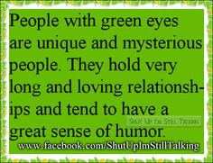People With Green Eyes Quotes Imgur.com. interesting strange