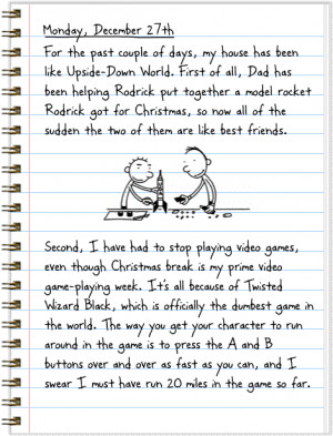 Diary of a Wimpy Kid Day 112