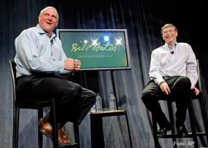 steve ballmer bill gates. Steve Ballmer és Bill Gates.
