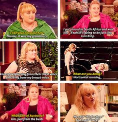 Rebel Wilson♥ - she is hysterical! More