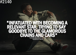 Kendrick Lamar Quotes About Life
