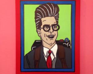 Egon Spengler Harold Ramis Ghostbus ters painting ...