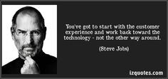 ... other way around. (Steve Jobs) #quotes #quote #quotations #SteveJobs