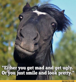 ... Or you just smile and look pretty.