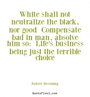 robert browning life quote print on canvas design your own quote