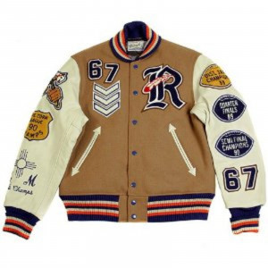 Letterman jacket by Sugar Cane Whitesville Letterman Roswell Indians ...