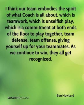 more! qualifying offers i. Top list is Coach Quotes On Teamwork ...